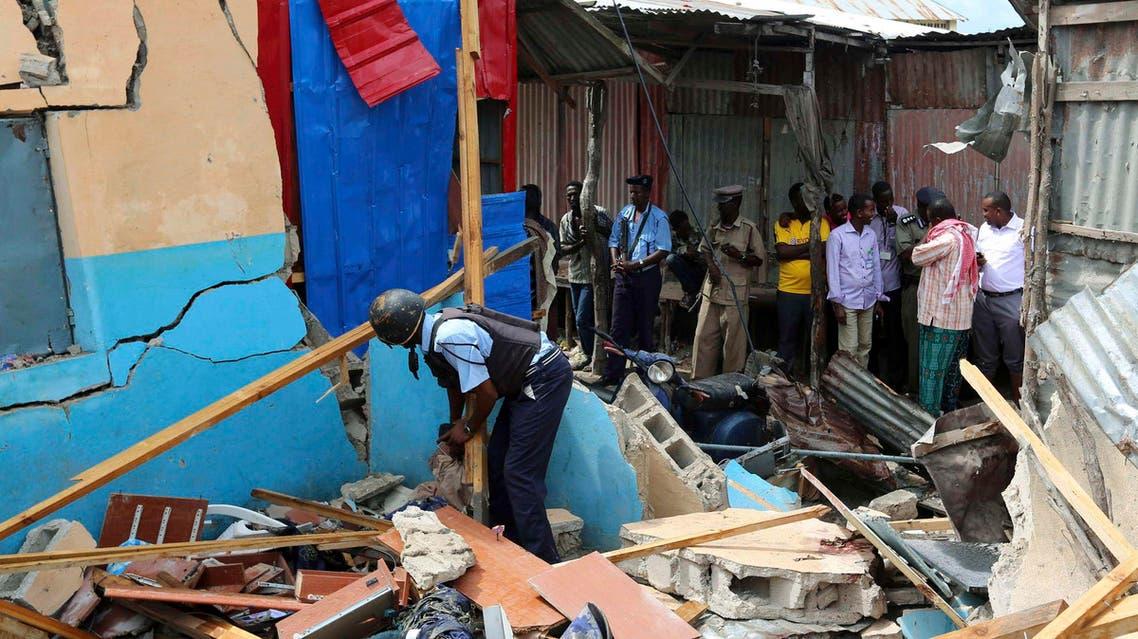 انفجار في الصومال