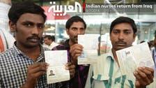 Indian nurses return from Iraq