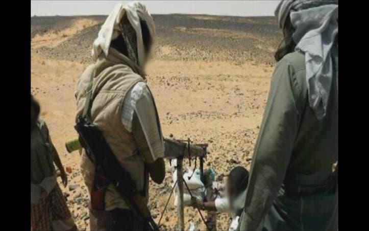 صور اطلاق صاروخ غراد القاعدة اليمنية على السعودية 4