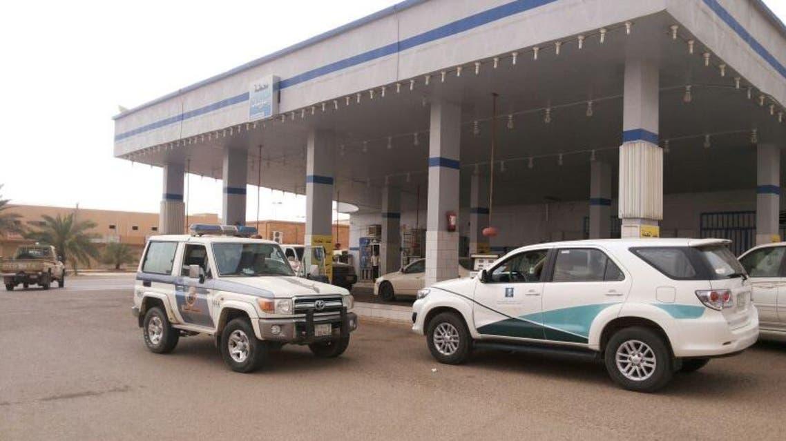 إغلاق محطة وقود في الزلفي