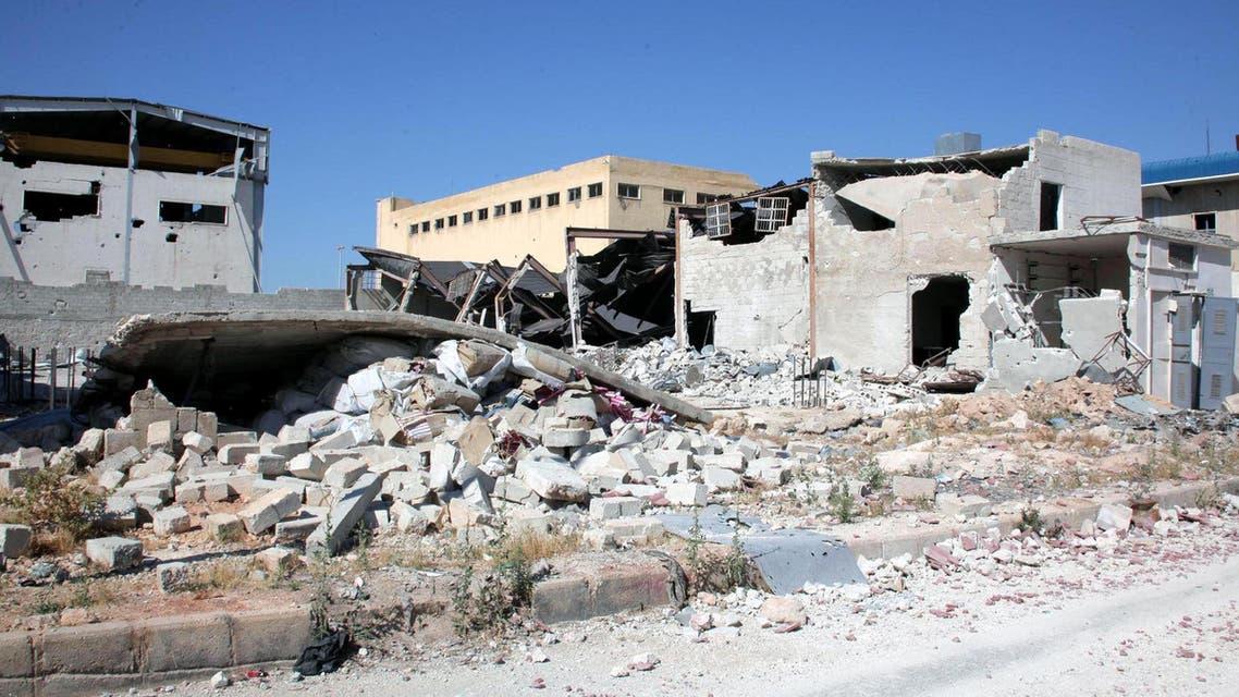مبان مهدمة في سوريا 3