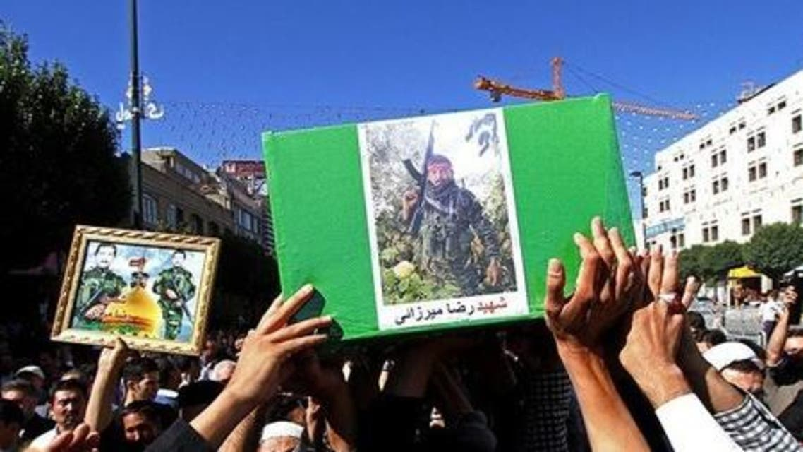 تشييع قتلى في مشهد سقطو في العراق وسوريا