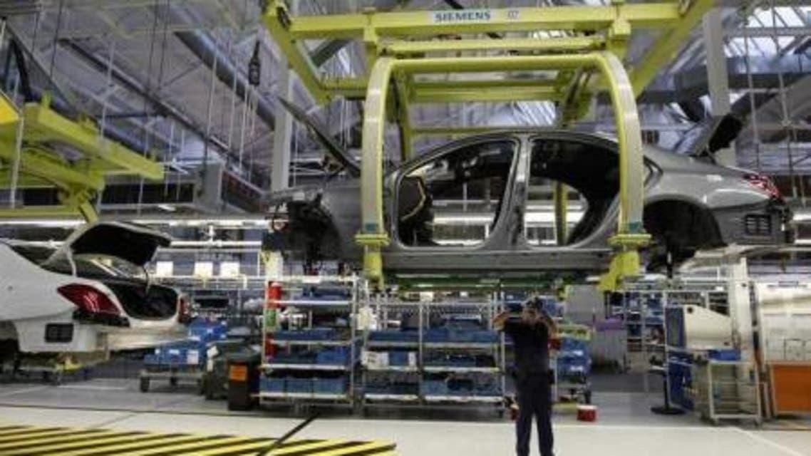 مصنع سيارات في المانيا