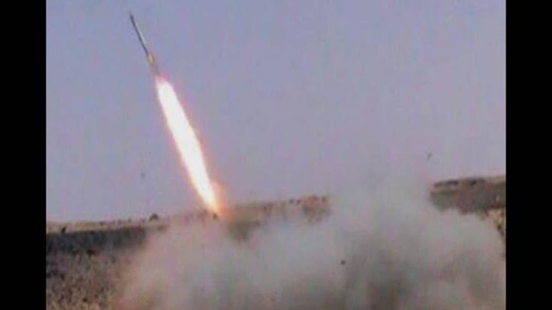 صور اطلاق صاروخ غراد القاعدة اليمنية على السعودية 6
