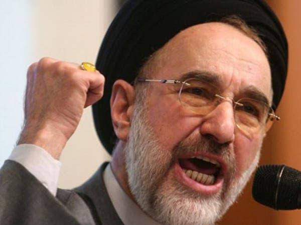 خاتمي يحذر من سقوط نظام إيران إذا فشل المشروع الإصلاحي
