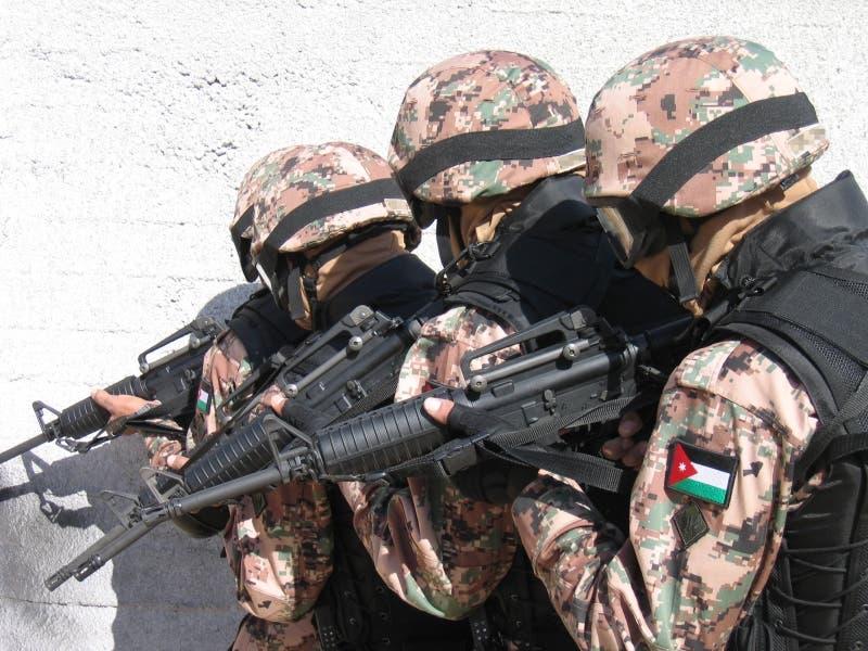 قوات من الجيش الأردني