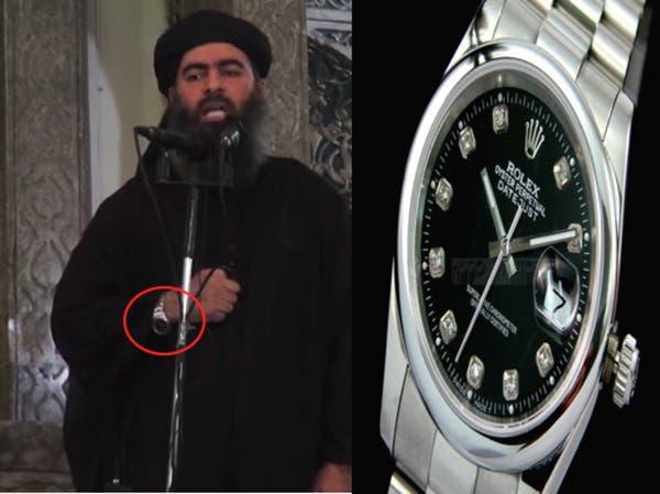 """""""الخليفة"""" البغدادي يرتدي ساعة """"جيمس بوند"""""""