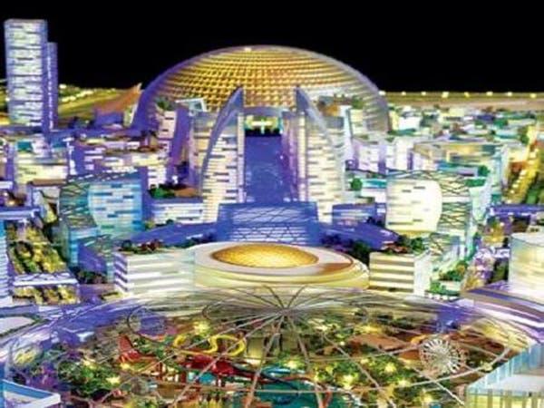 جونز لانغ لا سال: مول العالم أحد أبرز معالم العصر