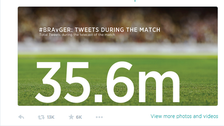 Brazil's 7-1 hammering by Germany 'got 35.6m tweets'