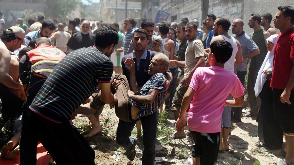 """عدوان إسرائيل """"الوحشي"""" على غزة"""