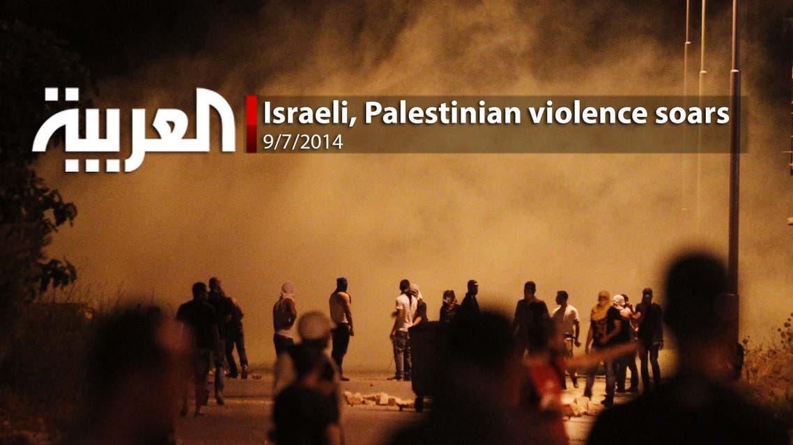 Israeli, Palestinian violence soars