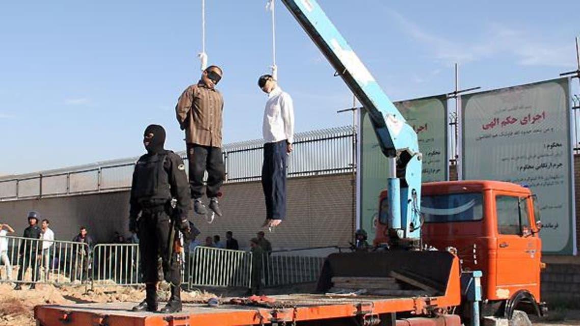 اعدام تجار مخدرات في ايران
