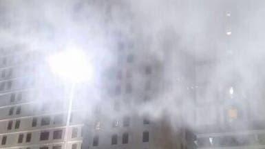 حريق مطعم يخلي نزلاء فندق بجوار المسجد النبوي