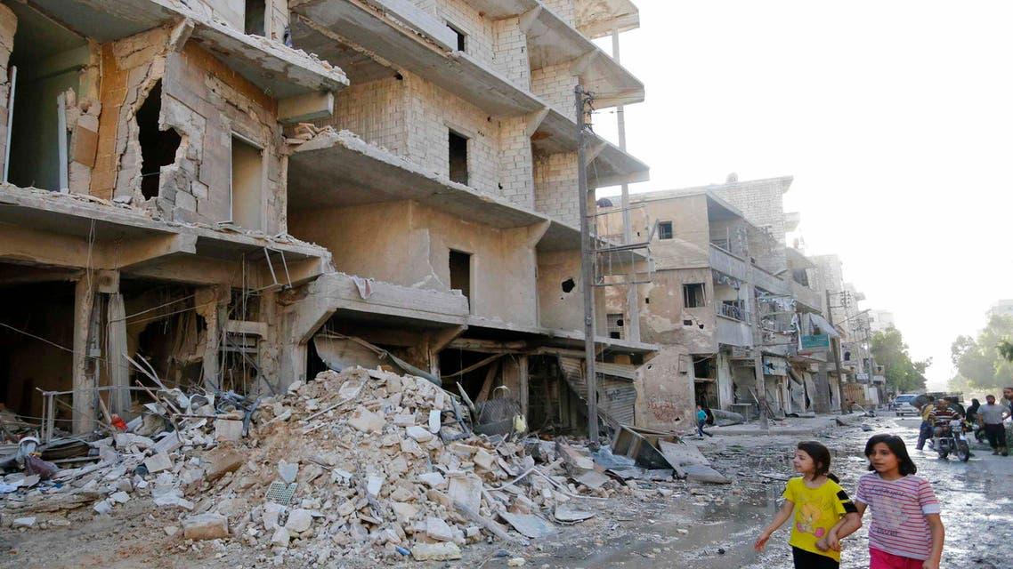 قصف قوات النظام السوري