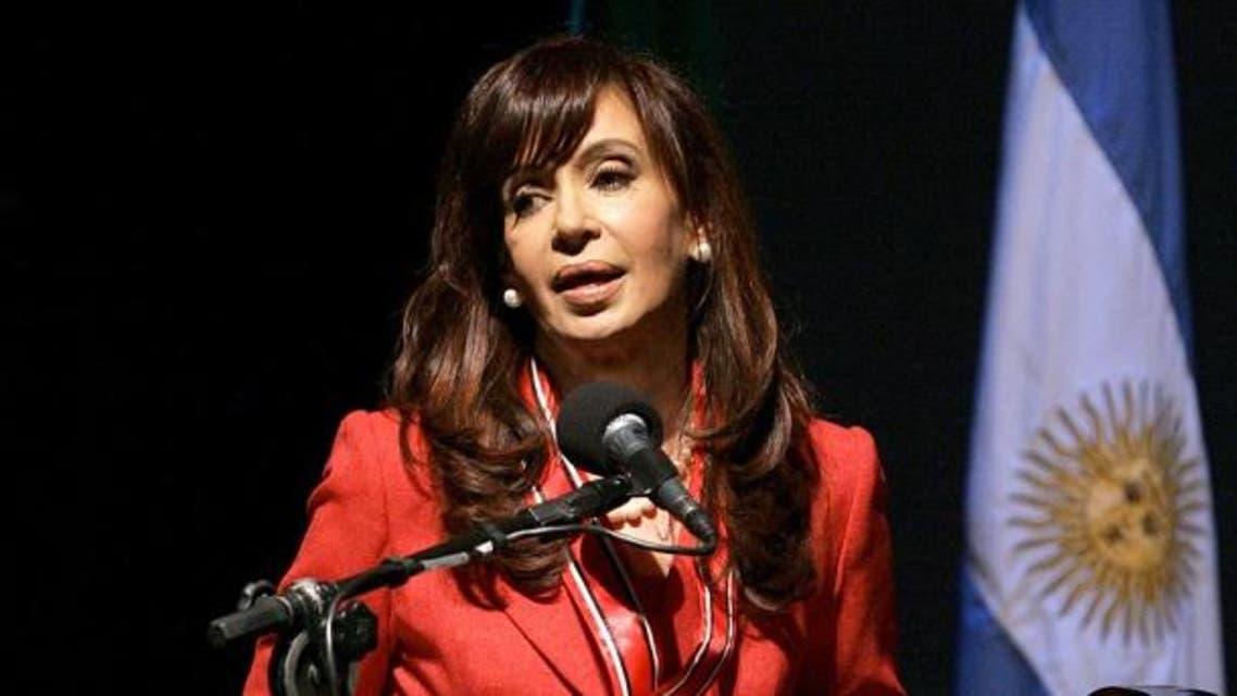 رئيسة الأرجنتين