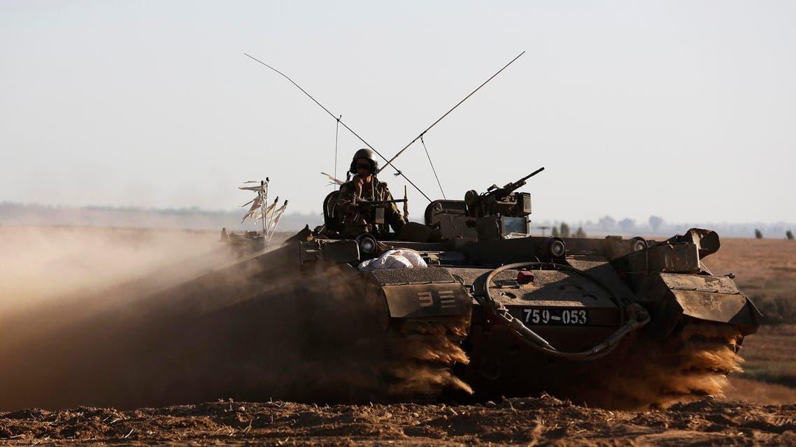 israel tank reuters