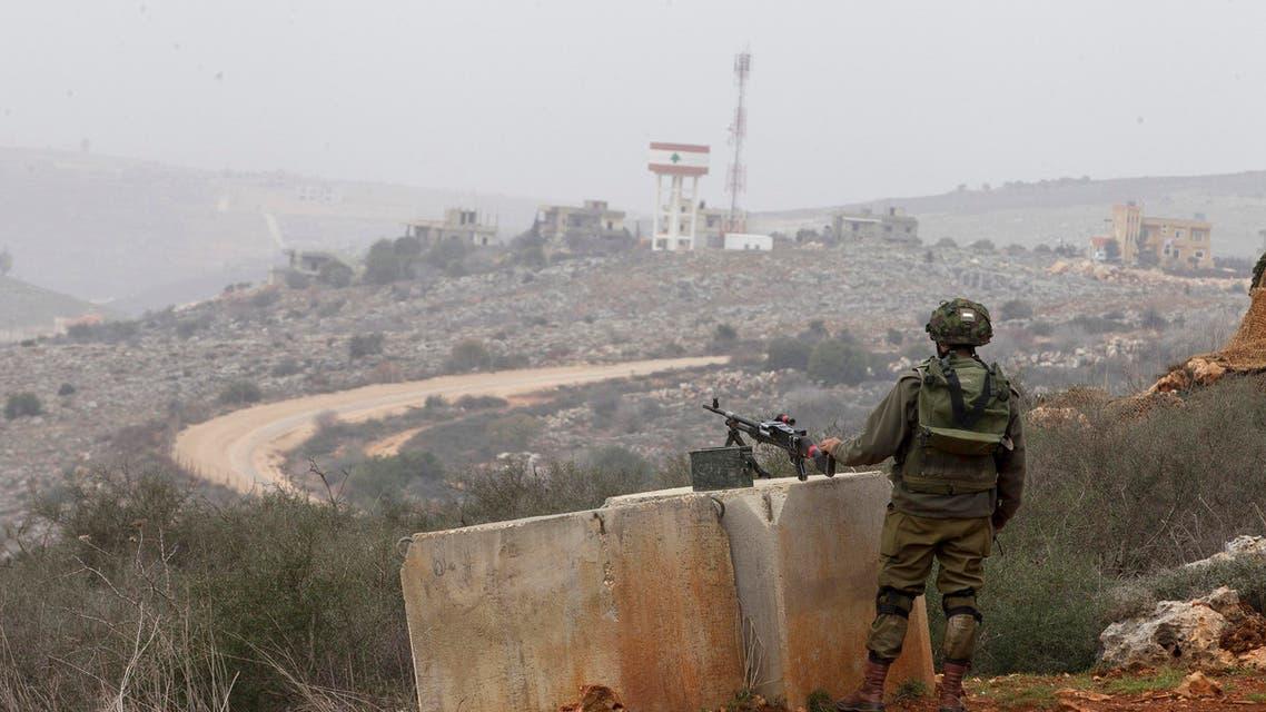 Israel lebanon border Reuters