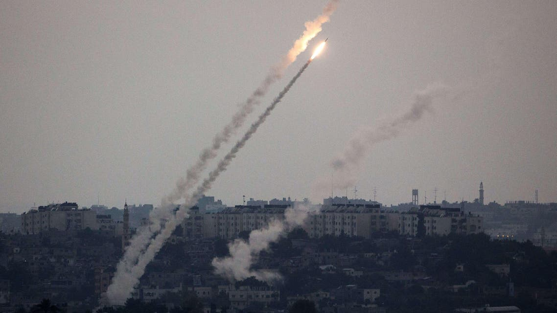 صاروخ من غزة باتجاه إسرائيل