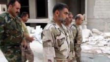 جیش الحر کے آرمی چیف کا حلب میں اگلے مورچوں کا دورہ