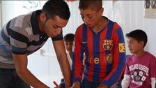 Syrian children host their own World Cup in Zaatari refugee camp