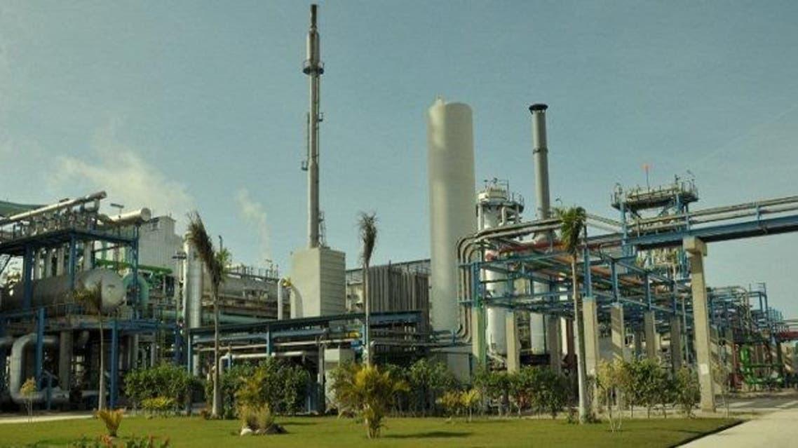مصنع أسمدة في مصر