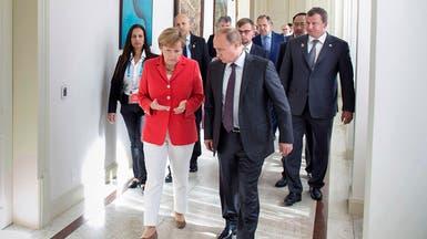 بوتين يلتقي ميركل في 2 مايو بموسكو