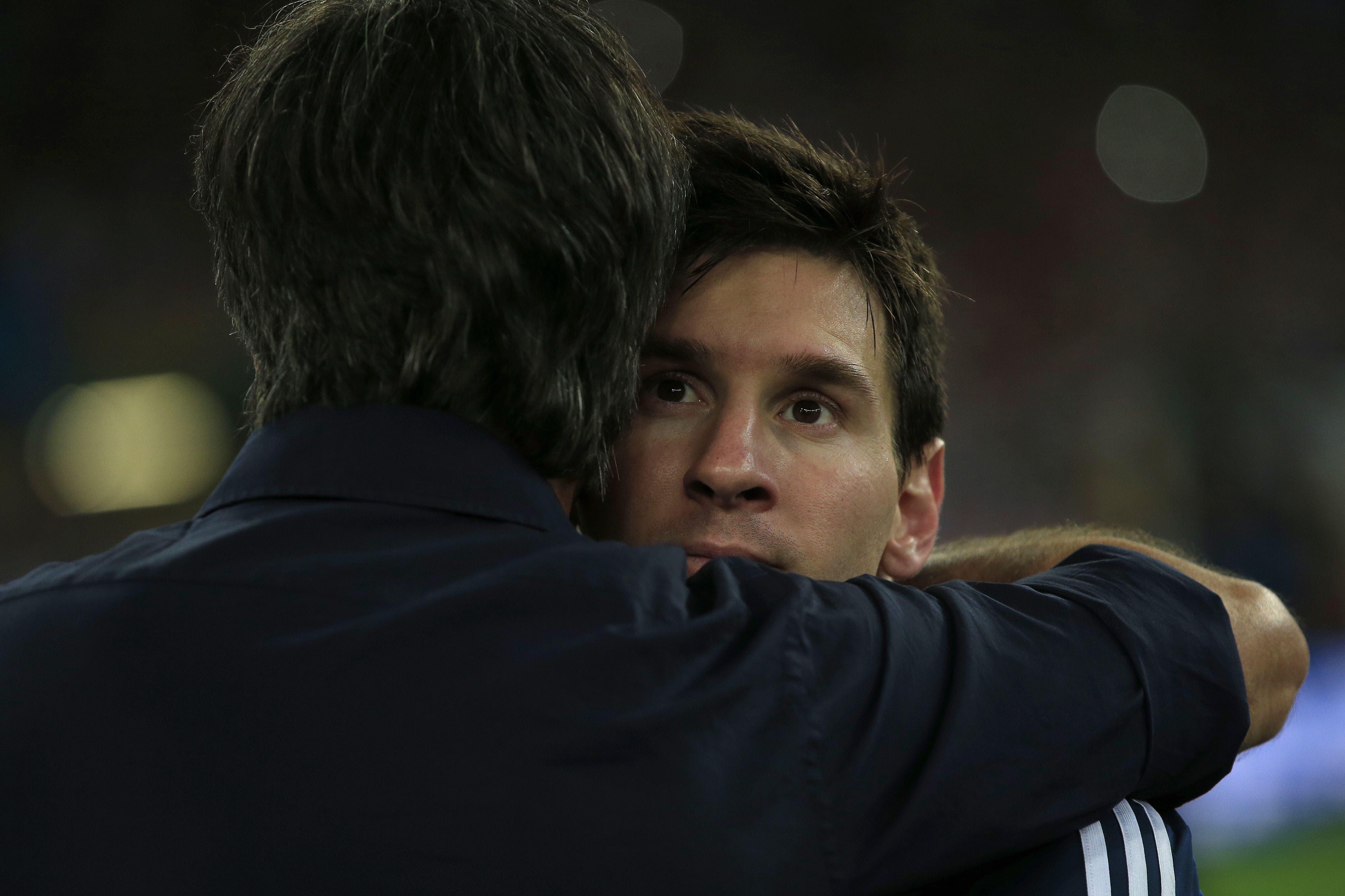 Messi Argentina AFP