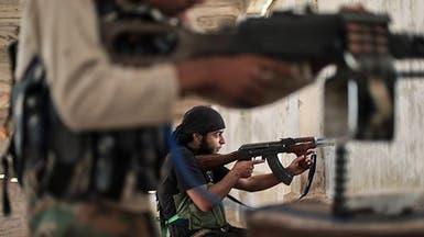 معارك بين حزب الله ومقاتلين سوريين على الحدود