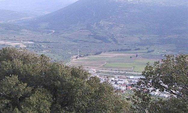 الحدود السورية اللبنانية