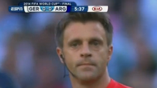 World Cup referee styles hair after big screen glimpse