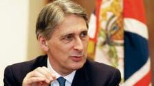برطانوی وزیر خارجہ مستعفی، فلپ ہیمنڈ نئے وزیر خارجہ
