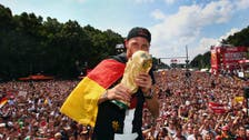 German World Cup winners get hero's welcome at home