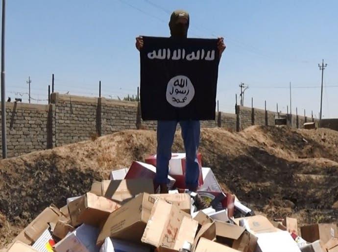 داعش الموصل يعلنها: لا سجائر ولا معسل  6