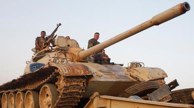 الأنبار.. بدء وصول إمدادات عسكرية لطرد #داعش