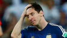 Maradona says Messi 'did not deserve' Golden Ball