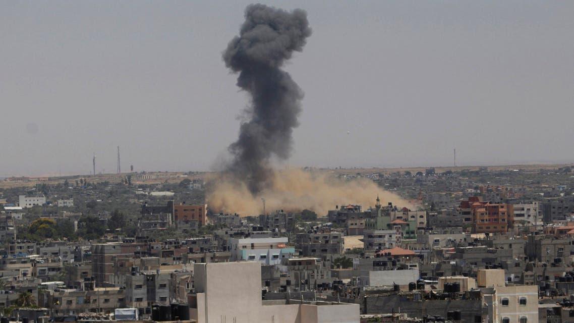 حاتنب من القصف الإسرائيلي على غزة