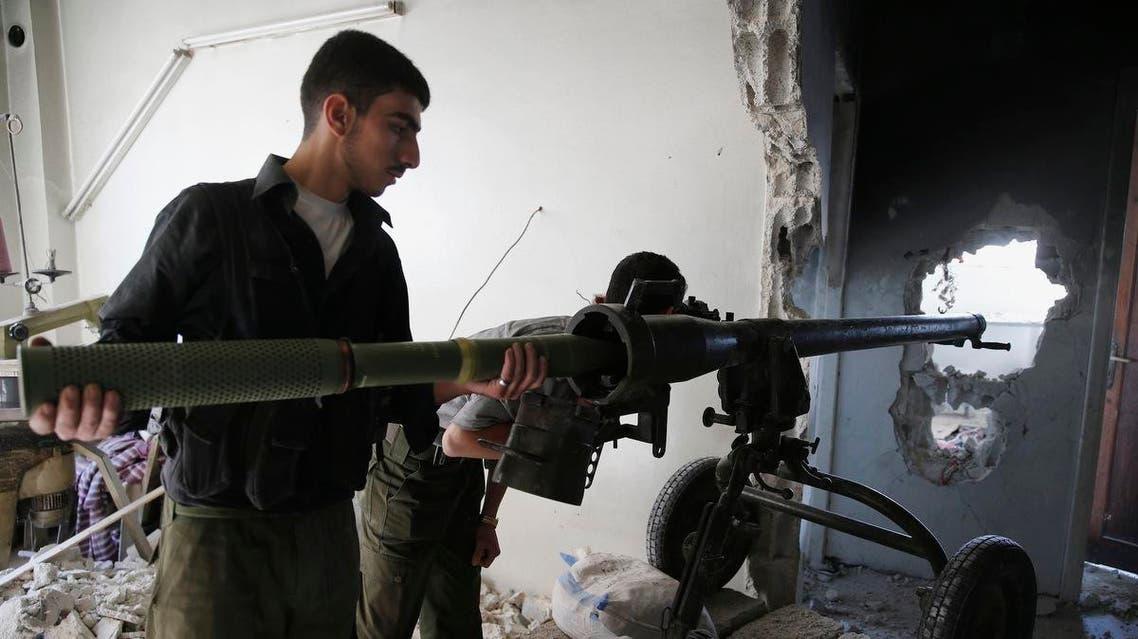 مقاتلو الجيش الحر سوريا
