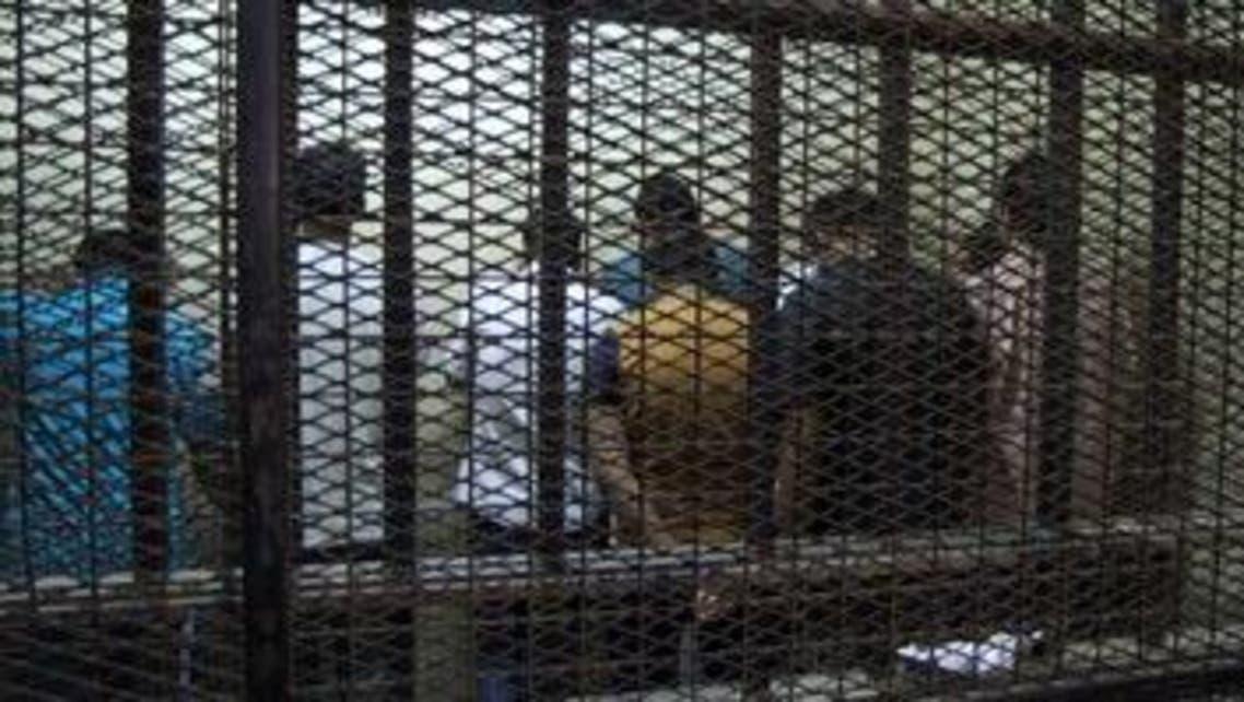 المتهمون بالتحرش في ميدان التحرير أثناء المحاكمة