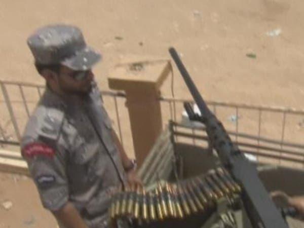 فيديو استعدادات القوات السعودية على حدود العراق