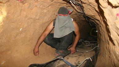 """غزة.. مقتل 7 من """"القسام"""" بانهيار نفق"""