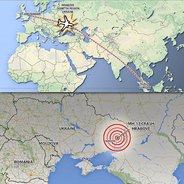 MH17 is believed to have been shot down with the old Soviet-built BUK surface-to-air missile system.  (Wikimedia)