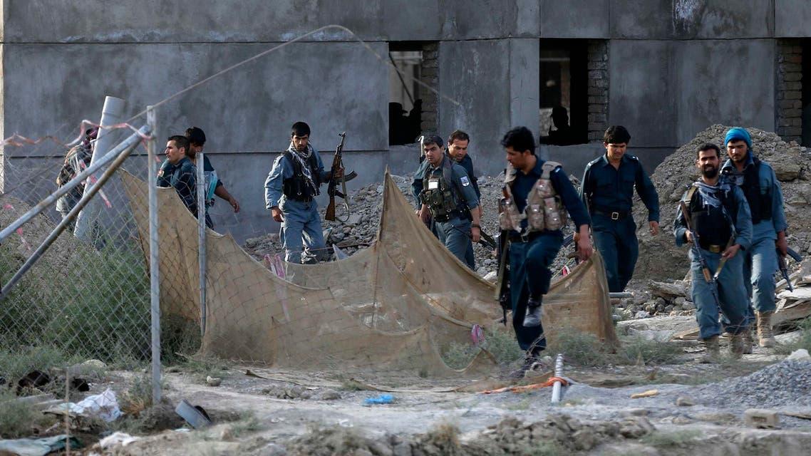 هجوم طالبان على مطار كابول في أفغانستان