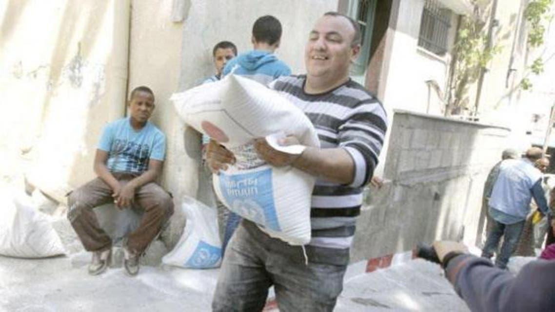 مساعدات سوريا