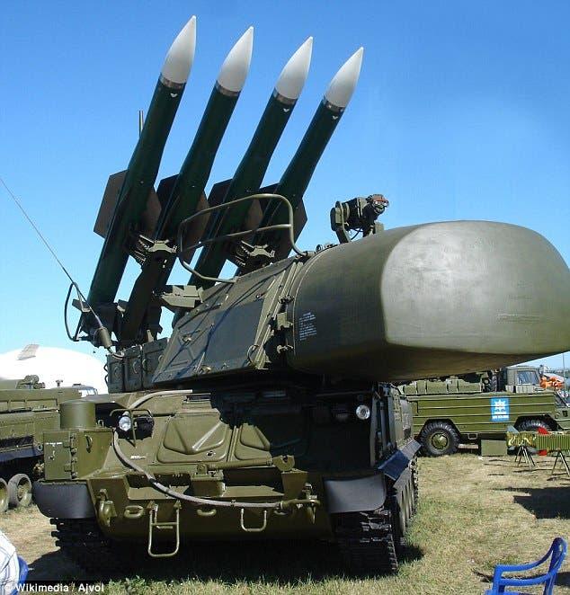 منظومة صواريخ تعود للعهد السوفييتي لاسقاط الطائرات