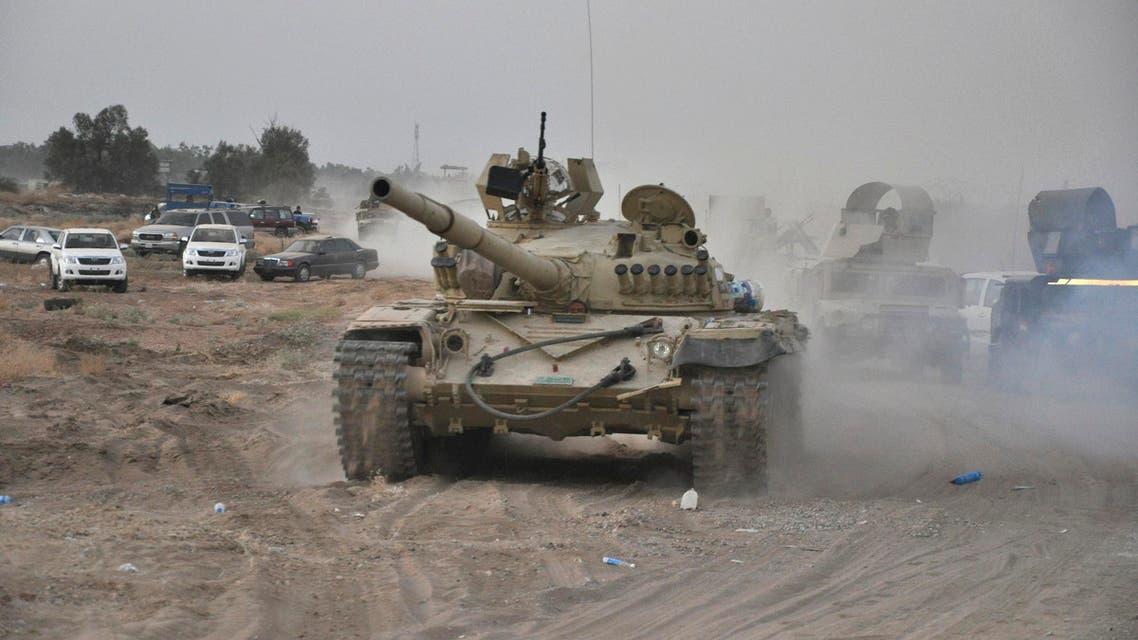 معركة ضارية للسيطرة على قاعدة عسكرية في العراق