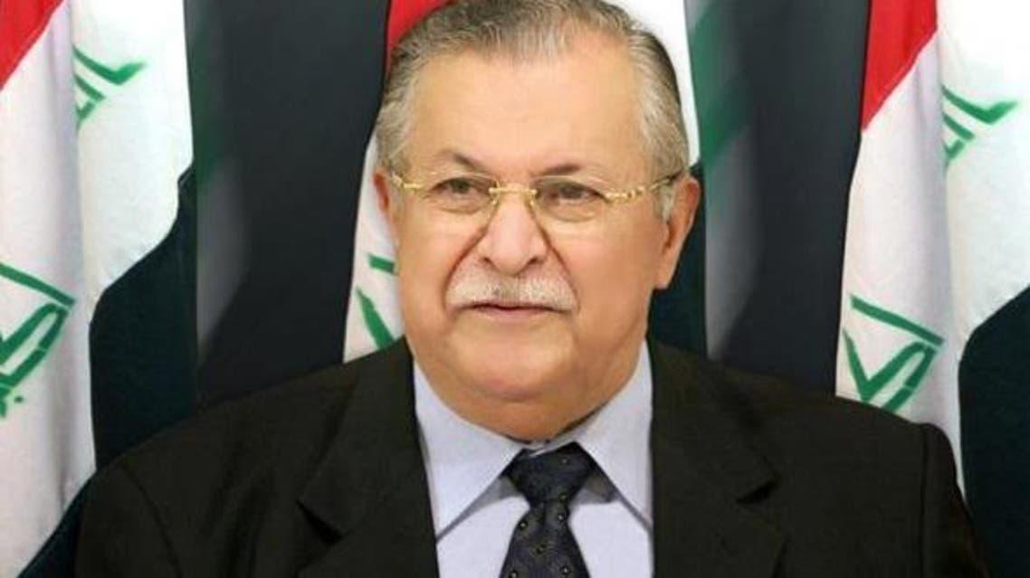 الرئيس العراقي جلال طالياني