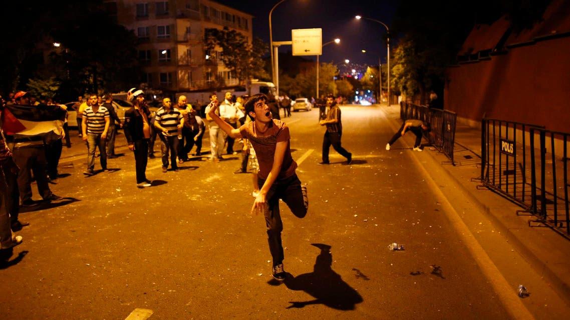 مظاهرات في تركيا تدين قصف إسرائيل على غزة