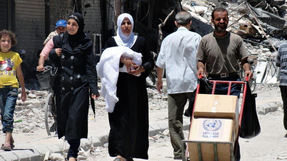 syria aid afp