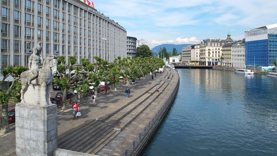 General View of Geneva Shutterstock