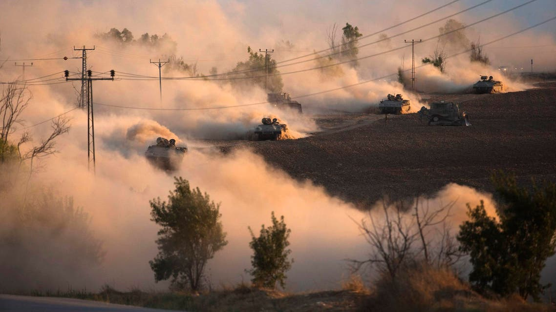 """. Israel intensified its land offensive in Gaza with artillery, tanks and gunboats on Friday and warned it could """"significantly widen"""" the operation. (Reuters)"""
